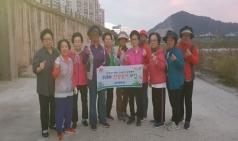 김천보건소, 30분 걷기실천으로 88한 100세 건강