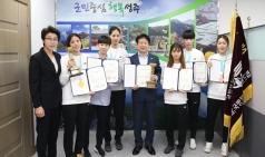 성주군청 여자태권도선수단, 2019년 활약이 눈부시다.