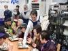 김충섭 김천시장, 무료급식소 공양방에서 배식 봉사