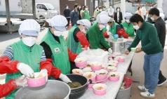 달성군 새마을회, 달성 보건소에 비빔밥 전달