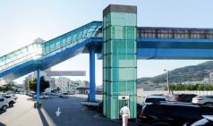 김천시, 평화 육교 승강기 설치공사 착수