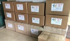도로공사, 고령영생병원 선별진료소 의료진에 응원키트 지원