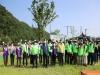 의성군, 남대천 수질개선을 위한 EM흙공 던지기 행사