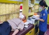 김천시, 코로나로 부족한 혈액은 헌혈로부터 극복합니다.