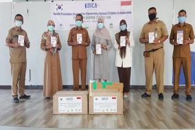 한국건강관리협회, 인도네시아 아체 초등학교 위생시설 지원