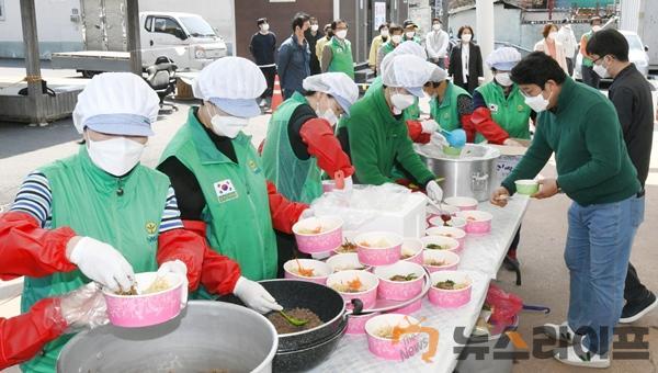 달성군새마을회, 보건소에 비빔밥 전달3.jpg