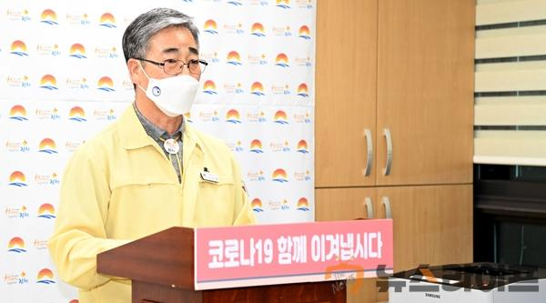 김천시, 사회적 거리두기 1.5단계 시행(사진).JPG